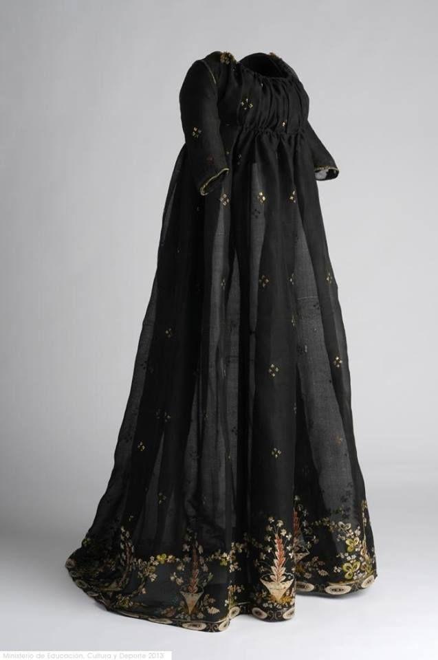 1800, Spain Silk, metal, cotton Museo del Traje