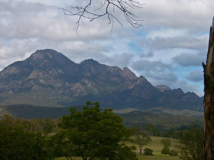 Mt Barney, Border Ranges, south-east Queensland, Australia.
