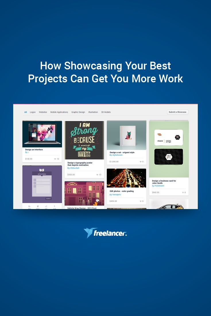 How Showcasing Your Best Projects Can Get You More Work  #freelancer #freelancer #freelancer.com #freelancing #work #jobs #onlinejobs