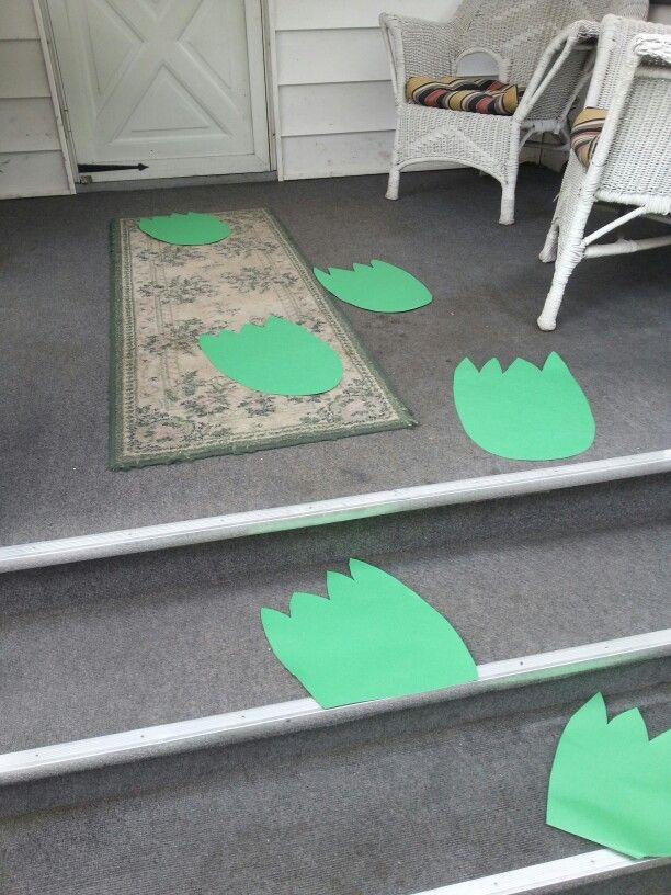 Godzilla footprints