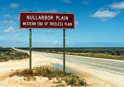 Drive across the Nullarbor