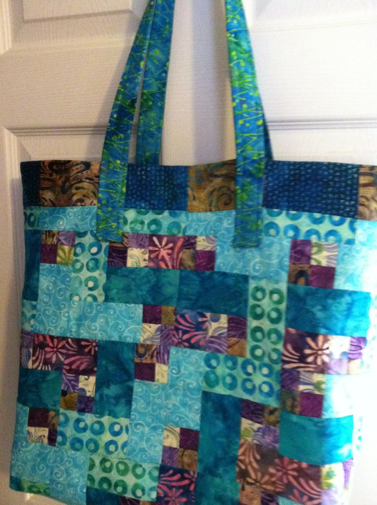 Needlework from Deb Quilted Totes