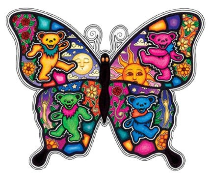 GRATEFUL DEAD BEARS & BUTTERFLY