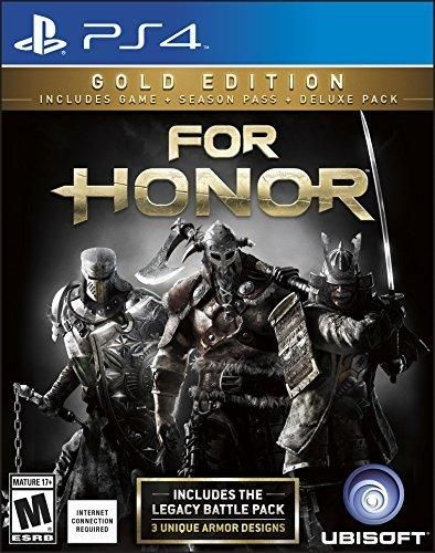 For Honor: Gold Edition (Includes Extra Content  Season Pass subscription) - PlayStation 4