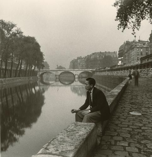 Louis Stettner, By the Seine, Pont St.Michel,1951