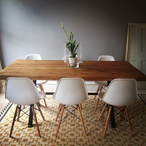 Vintage-Industrial-Rustic-Reclaimed-Plank-Top-Dining-Table-UK-Manufactured