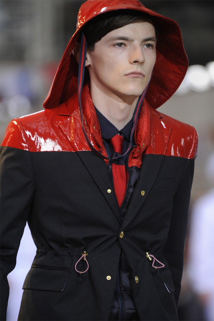 Moncler Gamme Bleu - Moda Uomo Primavera Estate 2013 - Vogue.it