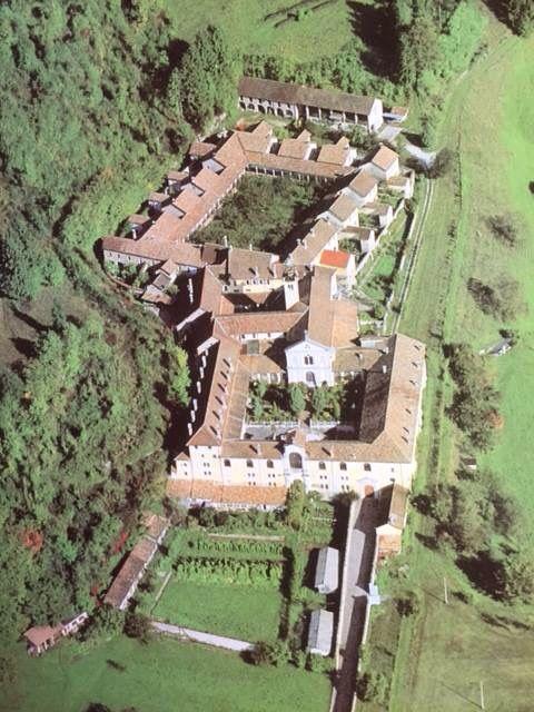 La Certosa di San Marco a Vedana Belluno Dolomiti Veneto Italia