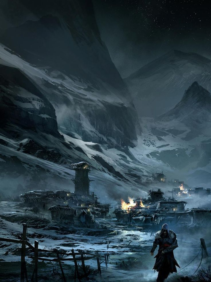Leaving Masyaf from Assassin's Creed: Revelations