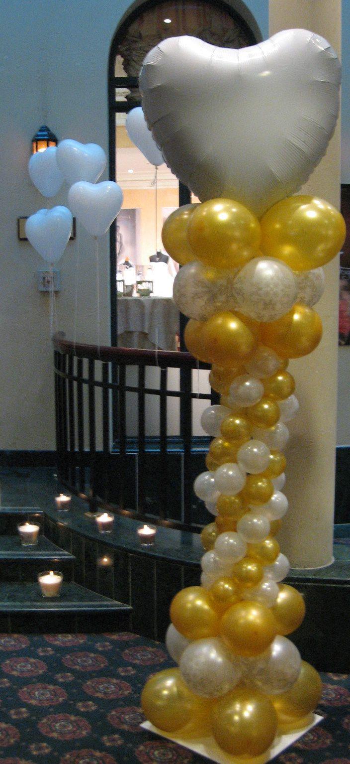 balónový stĺp