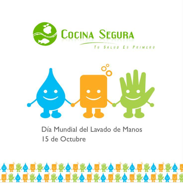 Cocina Segura: Día Mundial del Lavado de manos