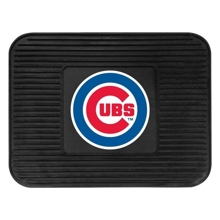 FANMATS Chicago Cubs Utility Mat, 14X17 Floor mats