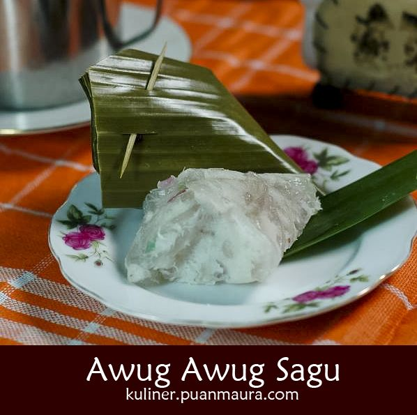 Cara membuat Awug-awug Sagu - Makanan tradisional dari Jawa