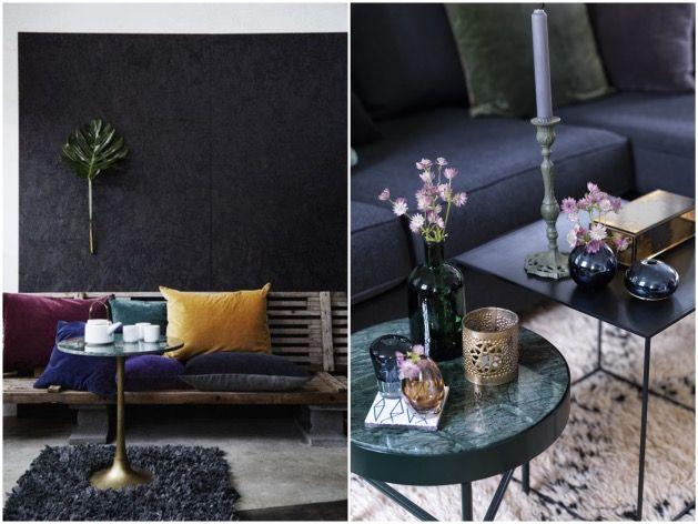 1000 images about salon on pinterest jungles tables and decoration - Decoration marbre salon ...