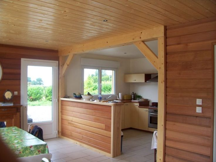 Lambris Bois Red Cedar Tiny Maison En 2019 Lambris