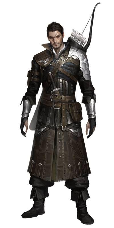 Celtican male archer/soldier