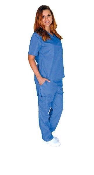 Médico Scrubs Set Natural Uniforms Xs S M L Xl 2xl 3xl Unisex Pantalones Cargo + Top in Ropa, calzado y accesorios, Uniformes y ropa de trabajo, Ropa quirúrgica | eBay