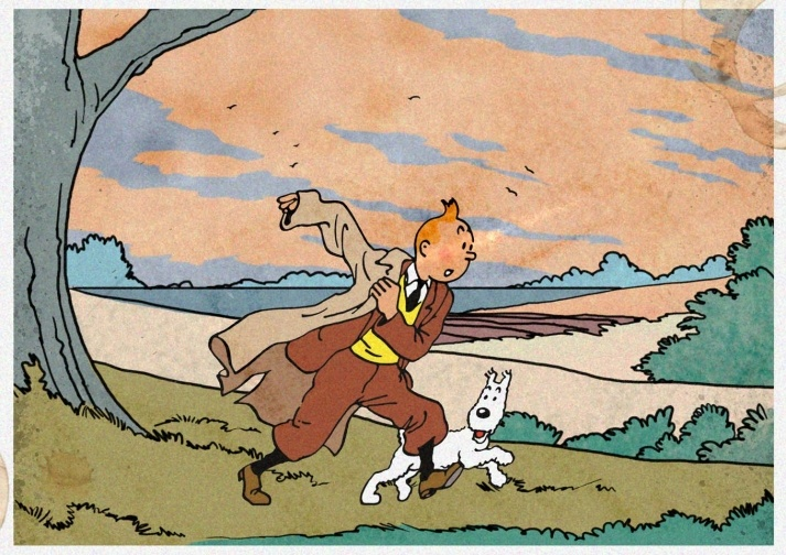 The Adventures of Tintin by Hergé.