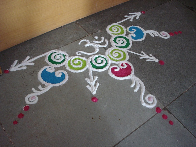 Rosie's Rangoli by Rosalee Gulabo, via Flickr