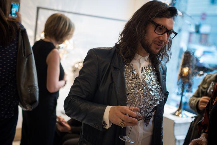 "jewelry - 14 aprile, cocktail party per ""Alas de Angel"" di  #PatricioParada  #LeABoutique  #Milano #MDW #MDW16 #DesignWeek #Fuorisalone #Fuorisalone2016 #design #designer #gold #light #AlasdeAngel"