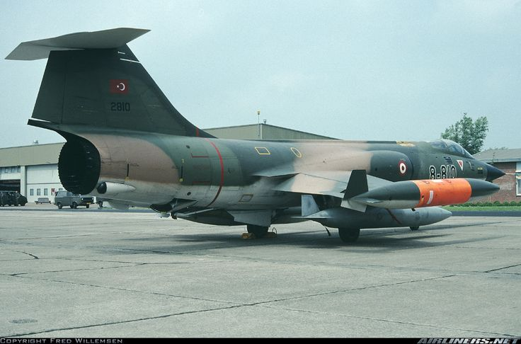 Lockheed (Canadair) CF-104 Starfighter (CL-90) - Turkey - Air Force | Aviation Photo #1472102 | Airliners.net