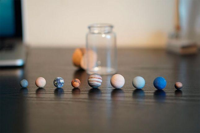 Des planètes du systeme solaire imprimées en 3D – WikiLinks
