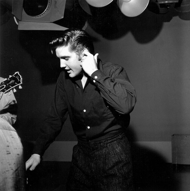 Second music rehearsal june 5  1956 for the Milton Berle show.