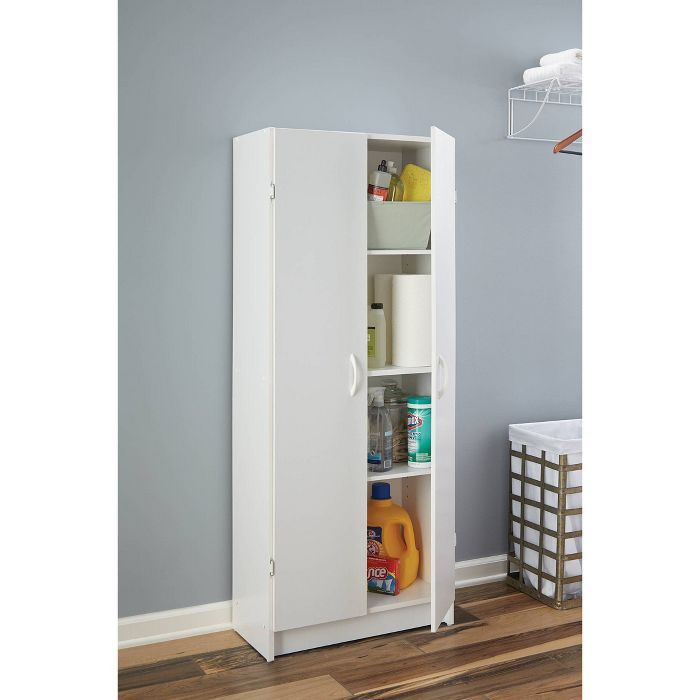 Closetmaid Pantry Cabinet White Kitchen Pantry Storage Cabinet