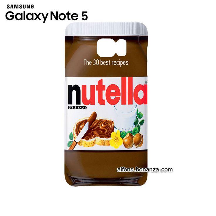 Nutella Peanut Butter Samsung Galaxy Note 5 Hardshell Case