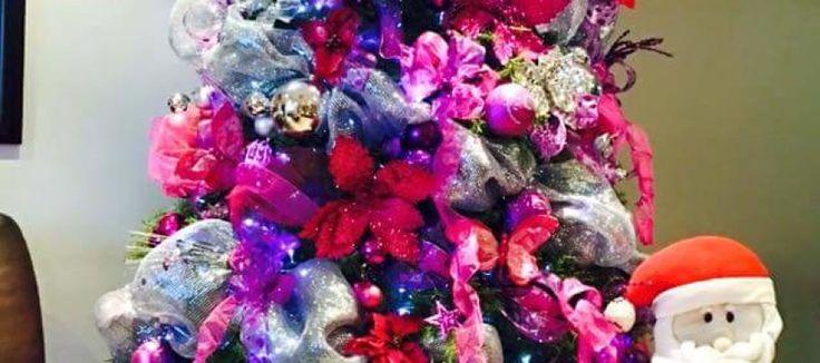 13 best decoracion de navidad images on pinterest - Decoracion de arboles de navidad ...