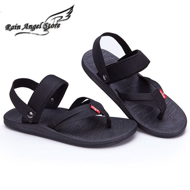 Unisex Non-slip Flip Flops Angel Heart Wings Cool Beach Slippers Sandal