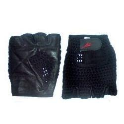 Guante fitness tejidos Palma de cuero Color Negro Tallas S, M, L y XL $3.990.- contacto@deporteactivo.cl