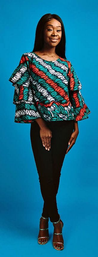 OMON top. -African print top. -Made with 100% cotton high quality African print wax fabric. Ankara | Dutch wax | Kente | Kitenge | Dashiki | African print bomber jacket | African fashion | Ankara bomber jacket | African prints | Nigerian style | Ghanaian fashion | Senegal fashion | Kenya fashion | Nigerian fashion | Ankara crop top (affiliate)