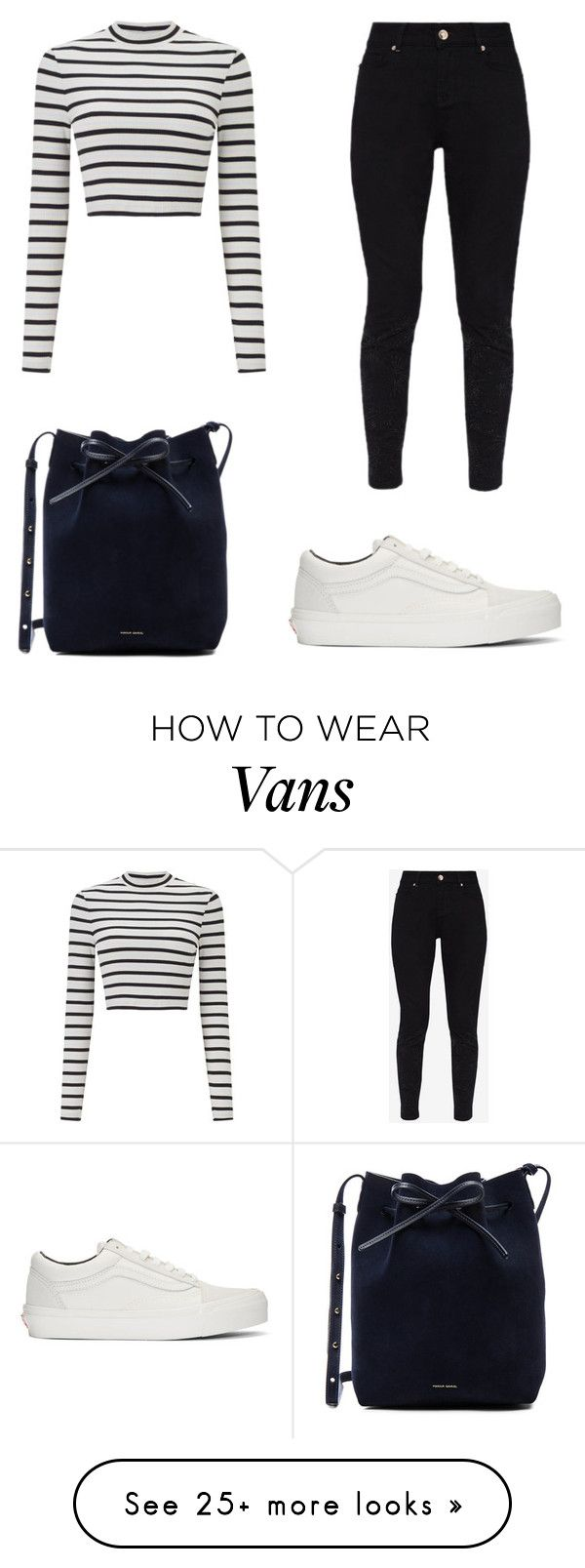 """Outfit ♡"" by geovanacaroline on Polyvore featuring Mansur Gavriel, Vans, Miss Selfridge and Ted Baker"