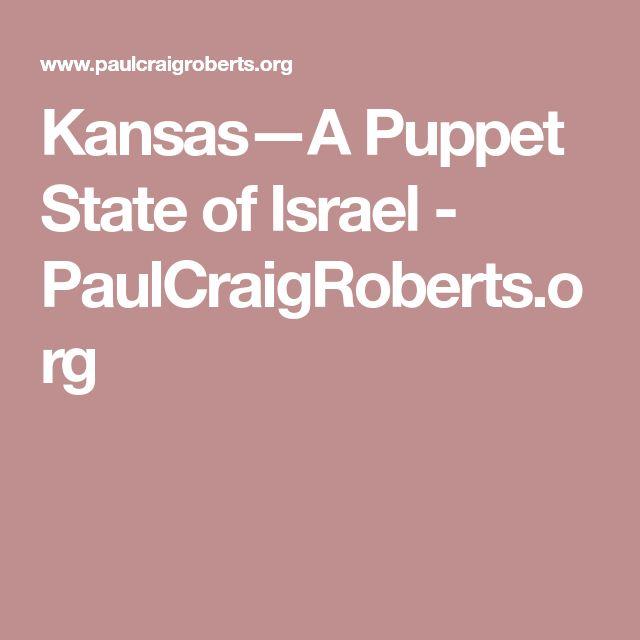 Kansas—A Puppet State of Israel - PaulCraigRoberts.org