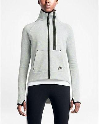 NWT Nike Tech Fleece Moto Women's Cape Full Zip Jacket Grey 642688-063 SZ XL Clothing, Shoes & Accessories:Women's Clothing:Athletic Apparel #nike #jordan #shoes houseofnike.com $90.00