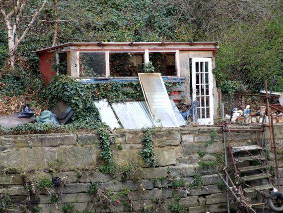Abandoned Shed/Hut by DWhitePhotography on Etsy