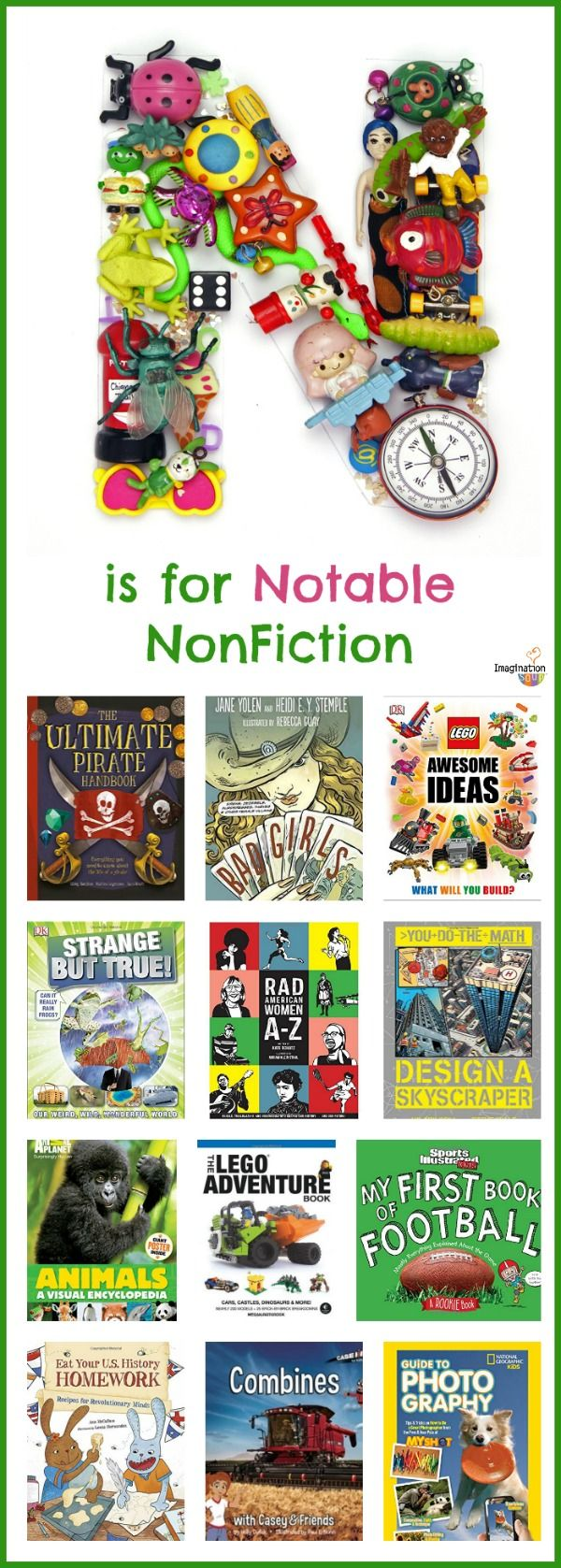 roundup of new excellent nonfiction books for kids (these would make great gifts, too!)