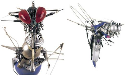 Pablo Castillo's #robot insect sculptures. | Electrical ...  X Files Robot Insects