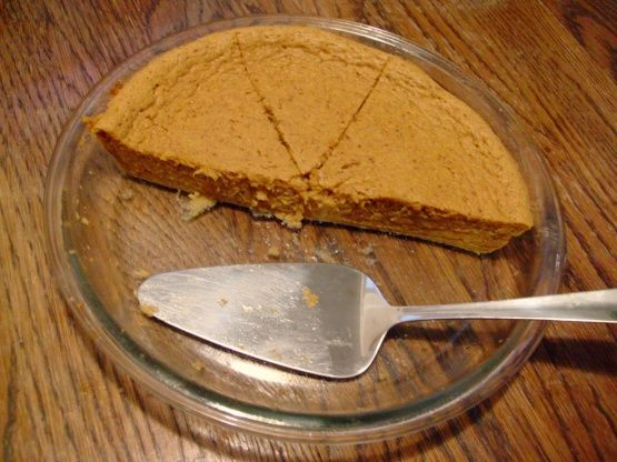 One Point Pumpkin Pie Crustless) Recipe - Food.com: Food.com: Food.com