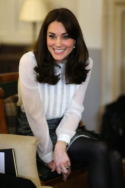 Kate Middleton Photos - The Duchess Of Cambridge Guest Edits The Huffington Post - Zimbio
