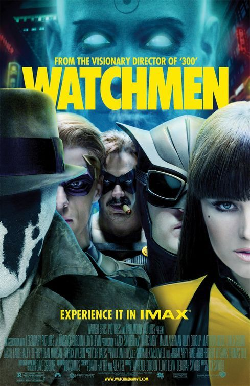 What is a good research topic on the graphic novel Watchmen?