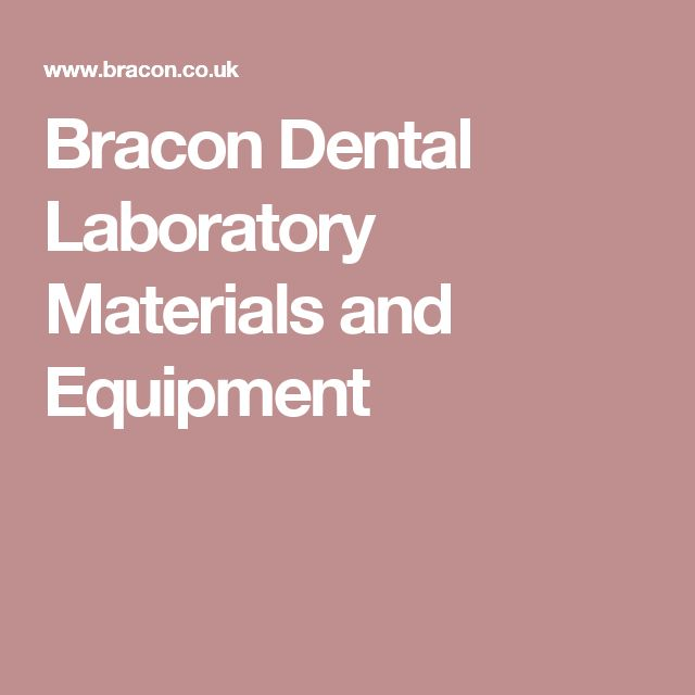 Bracon Dental Laboratory Materials and Equipment