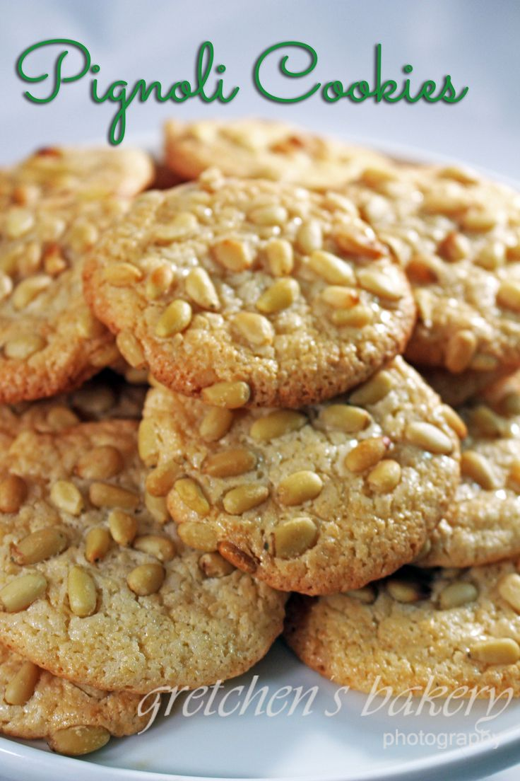 Pignoli Cookies -- Gretchen's Bakery