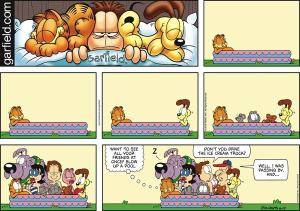 1000 ideas about comic strips on pinterest garfield - Funny garfield pics ...