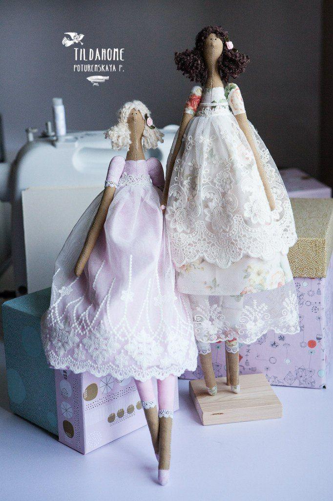 куклы тильды ♡