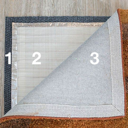 Non Slip Thermal Insulation Pad For Rug Heat Thermal Insulation Rugs Insulation