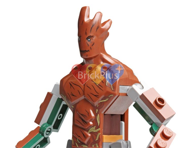 LEGO Groot Minifigure from Guardians of Galaxy (76020) Knowhere Escape Mission, Digital file, Instant download by Brick2you on Etsy