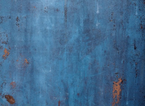 Blue Rusty Metal Background Texture High Resolution