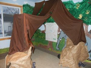 This week we started a new unit in Sunday School on respect. The lesson was about respecting authority, using the story of David cutting off a piece of King Saul's robe in the cave (1 Samuel 24). ...